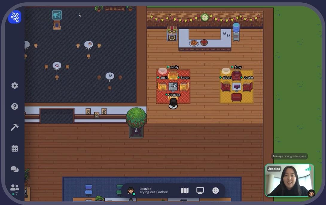 gather.town screenshot