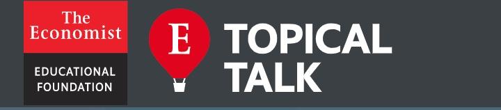 The Economist topical talk logo