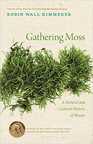 """cover image, """"Gathering Moss"""" book"""