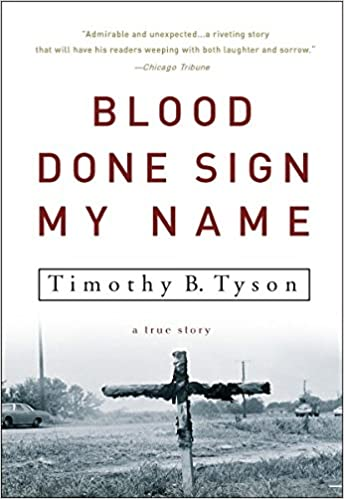 cover image Blood Done Sign My Name