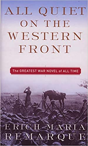 cover image All quiet on the western front