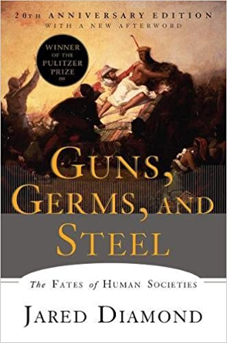 cover image Guns Germs and Steel