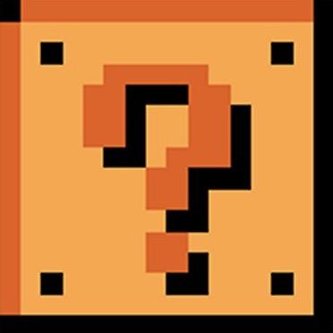 Super Mario Bros question block